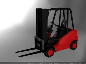 3d model chariot fenwick