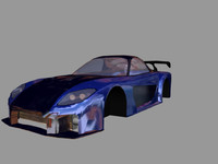 free 3ds mode car rx7