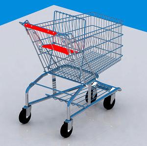 3ds max shopping cart car