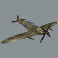 spitfire 3d max