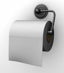 toilet holder 3d model