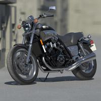 Yamaha Vmax motorcycle