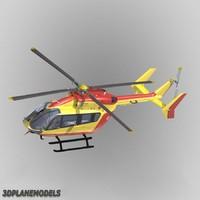 3ds eurocopter ec-145 sécurité civile