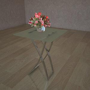 glass table sc 4318 3d 3ds
