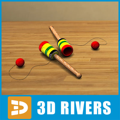 3d cup toys model