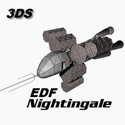 3ds edf nightingale
