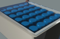 Basic - Encased Blue Vials