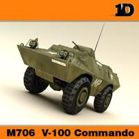 M706  V-100 Commando