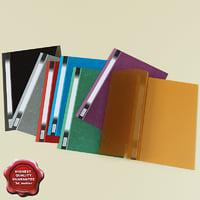 paper folders v2 3d model