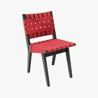 Risom Side Chair 01