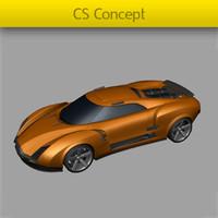 cs concept 3d model