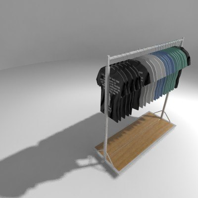 retail fixture 3ds