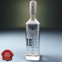 vodka bottle nemiroff 3ds