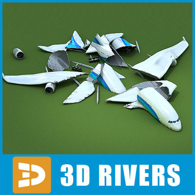 3ds max crashed plane