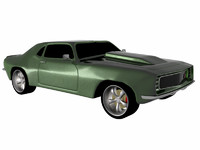 3dsmax 1969 camaro z28