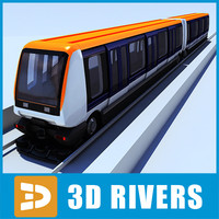 cdgval train 3d model