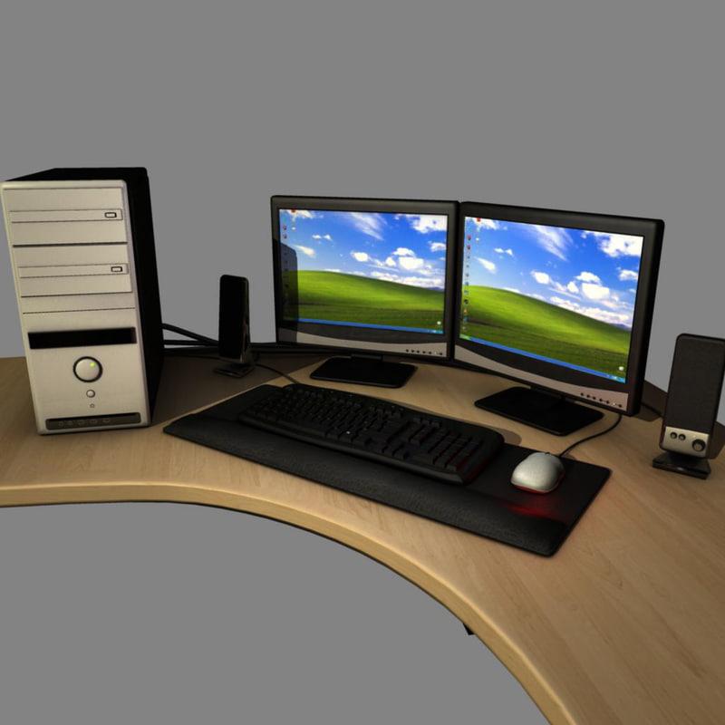 3d model computer settings