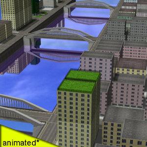 max city buildings