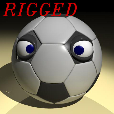 max football cartoon character