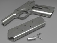 Highly detailed Colt 1911 parts