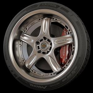max volk racing wheel tire rim