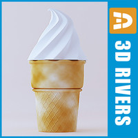 Ice cream 01 by 3DRivers