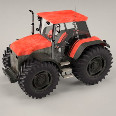 3ds tractor