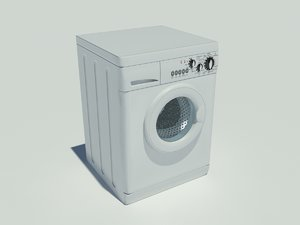 laundry machine washer dryer 3d dwg