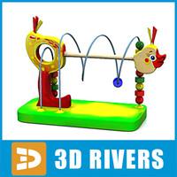 logic toys play 3d model