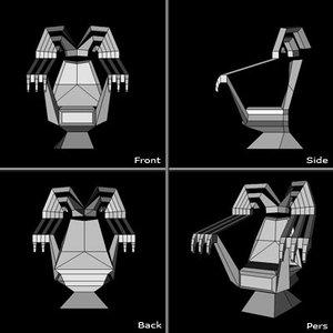fantasy throne 3d model