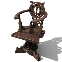 medieval chair 4