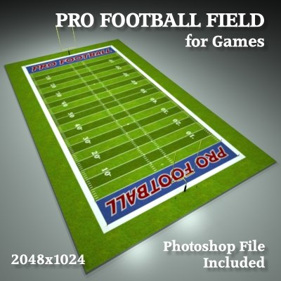 maya professional football field