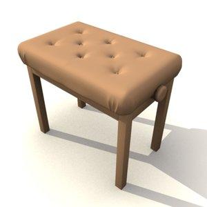 piano stool max