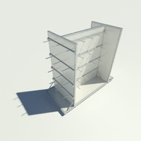 3d model retail fixture