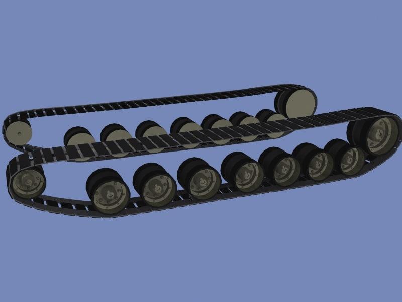 track 3d model