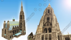 3d st stephen s cathedral model