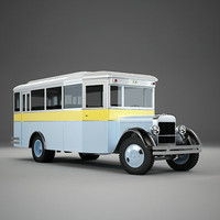 Vintage City Bus