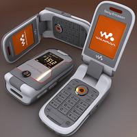 3d sony ericsson w710i model