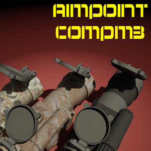 3d aimpoint compm3