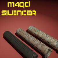 3d silencer m4