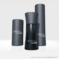 ARMANI CODE aftershave collection