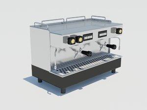 3ds max cappuccino machine coffee flavor