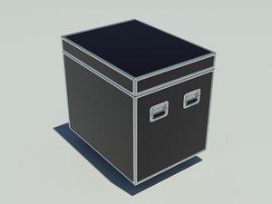 3d model cargo case crates