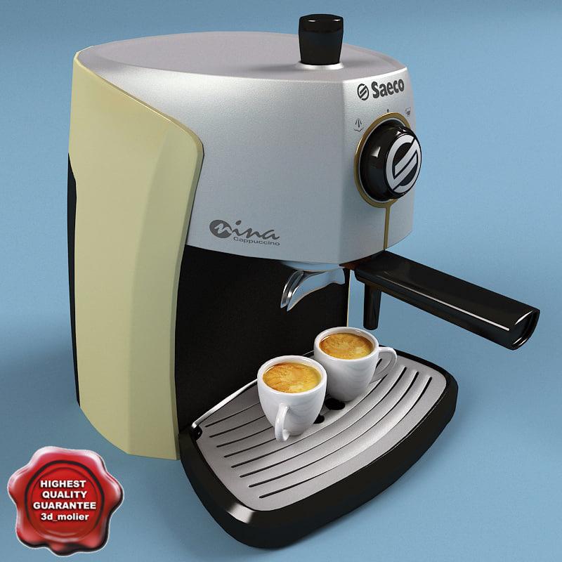 3ds coffeemaker saeco
