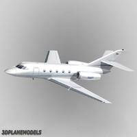 dassault falcon 20 200 3d model