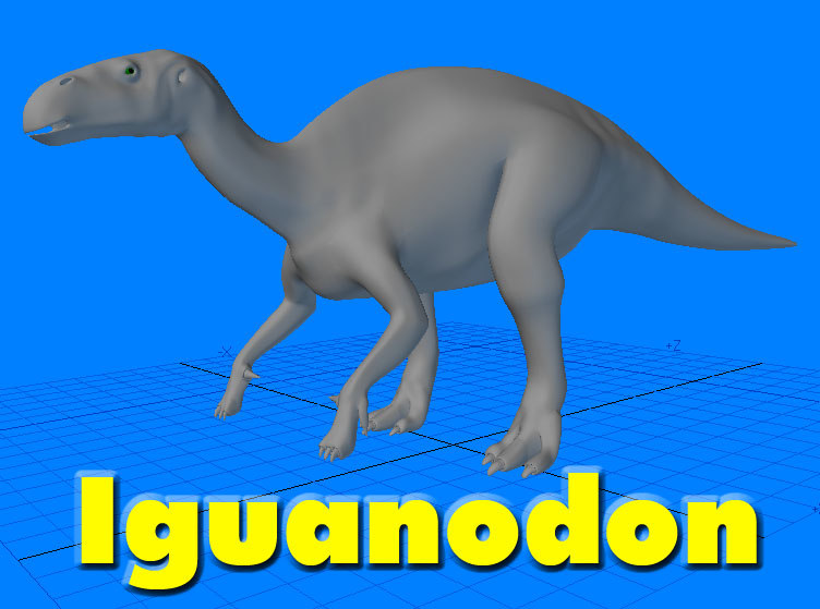 lwo iguanodon dinosaur