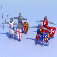 knight games 3d max