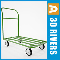 luggage cart 3ds