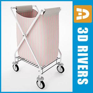 max laundry cart