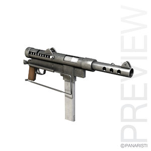 carl gustav m45 - 3d model